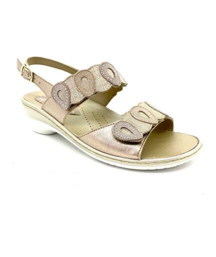 PODOLIFE SHOES Sandalo Donna Oro podolifecalzature.it 3 Scarpe Donna
