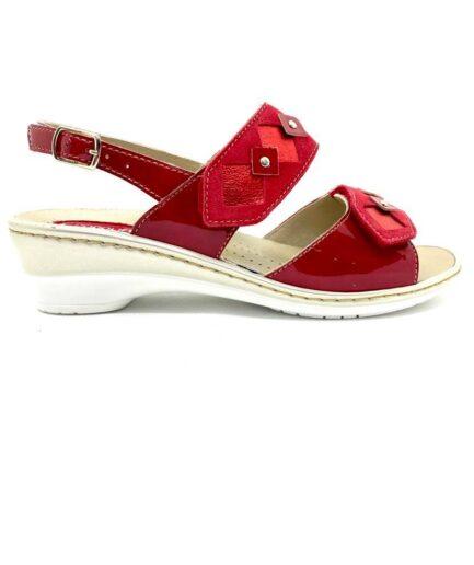 PODOLIFE SHOES Sandalo Donna Predisposto Rosso podolifecalzature.it 4 Scarpe Donna