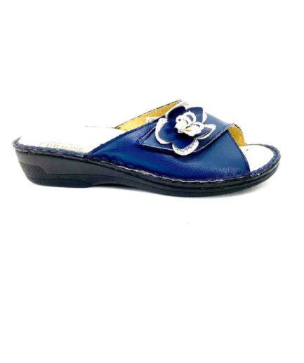 Pantofola Donna CliaWalk estraibile 407 blu podolifecalzature.it . 2 e1621359979145 Scarpe Donna
