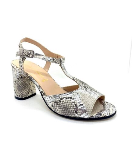 sandalo donna ladyconfort pitone argento 2 podolifecalzature.it Scarpe Donna