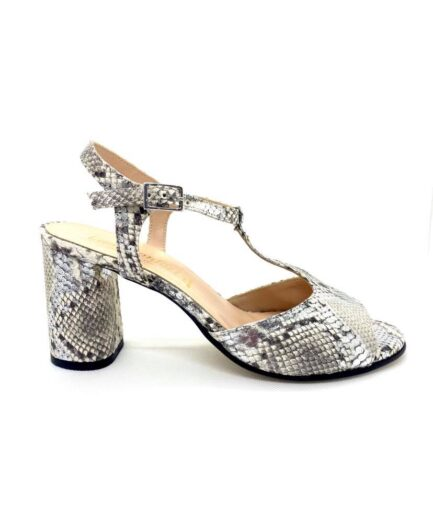 sandalo donna ladyconfort pitone argento podolifecalzature.it Scarpe Donna